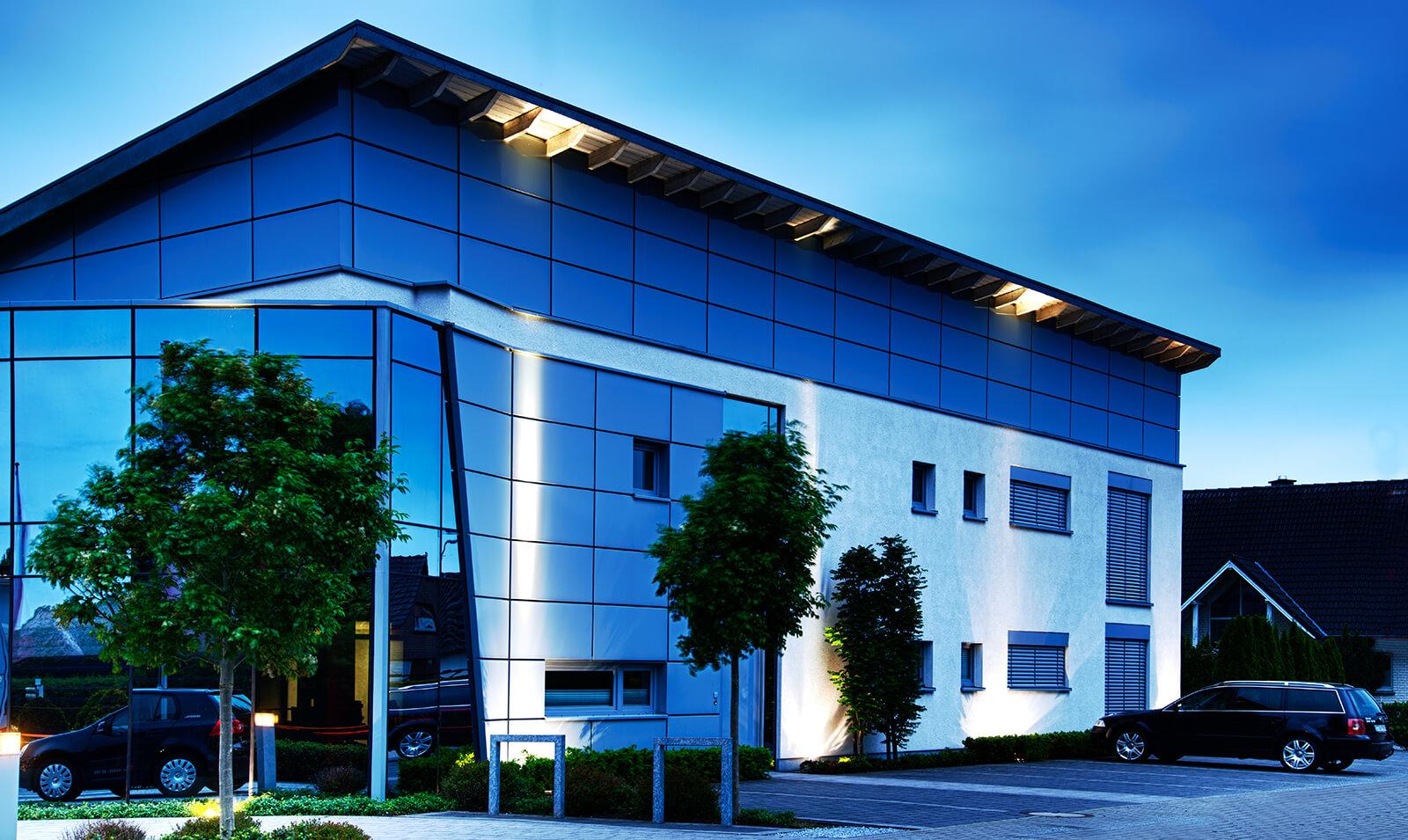 Gewerbliche Gebäude Neubau - Dickhutbau