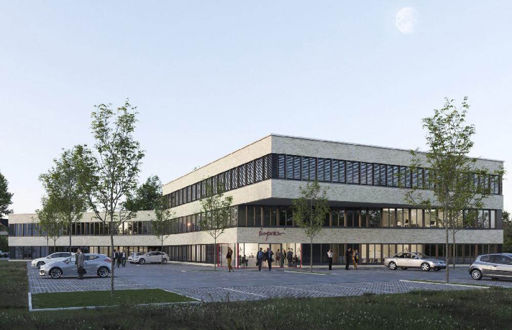 3-geschossiges Bürogebäude für die Inpraxi Immobilien GmbH &Co